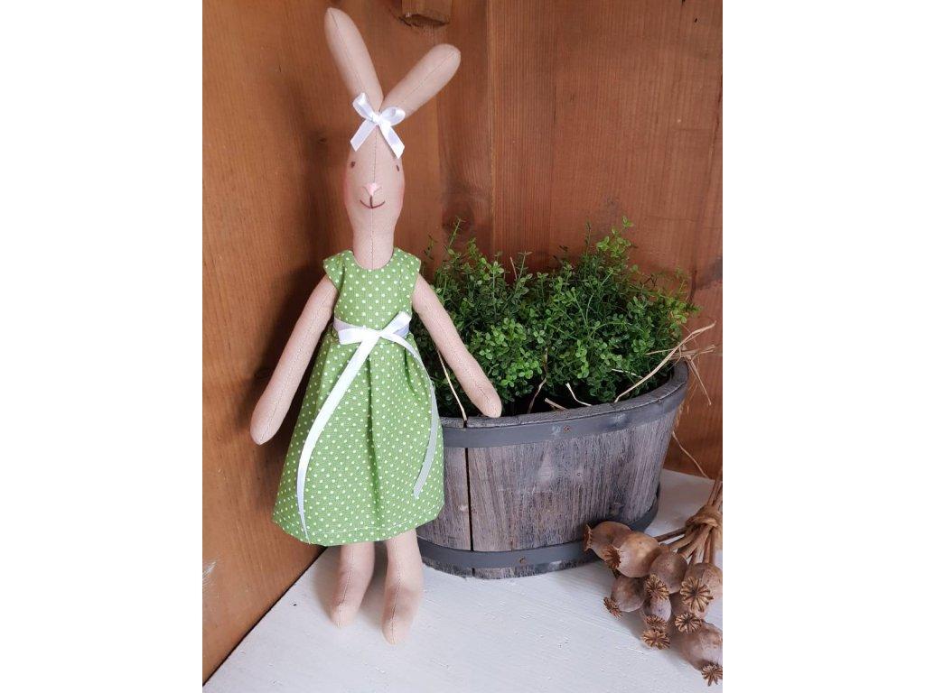 Zajíček holka zelená