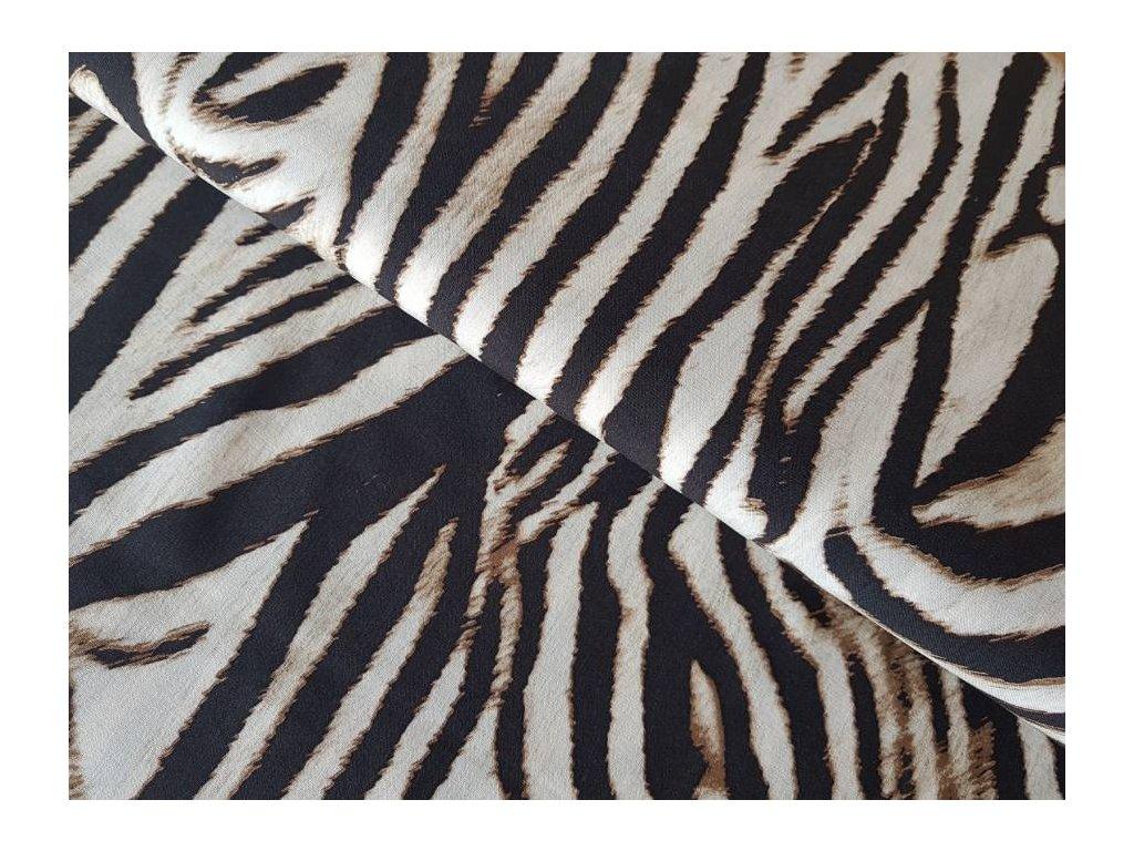 Viskóza - zebra
