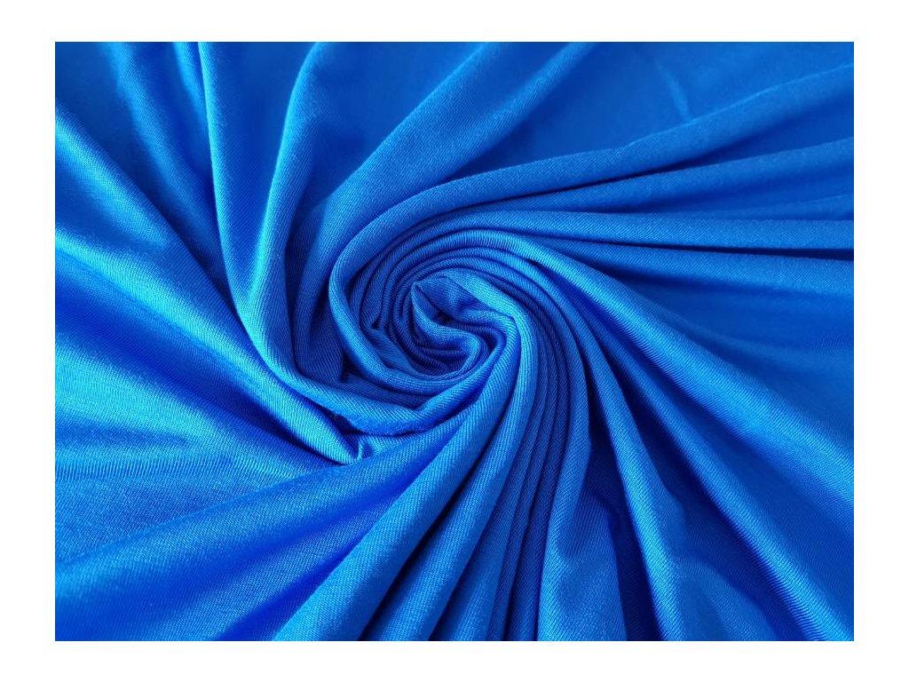 Bambusový úplet - královsky modrá