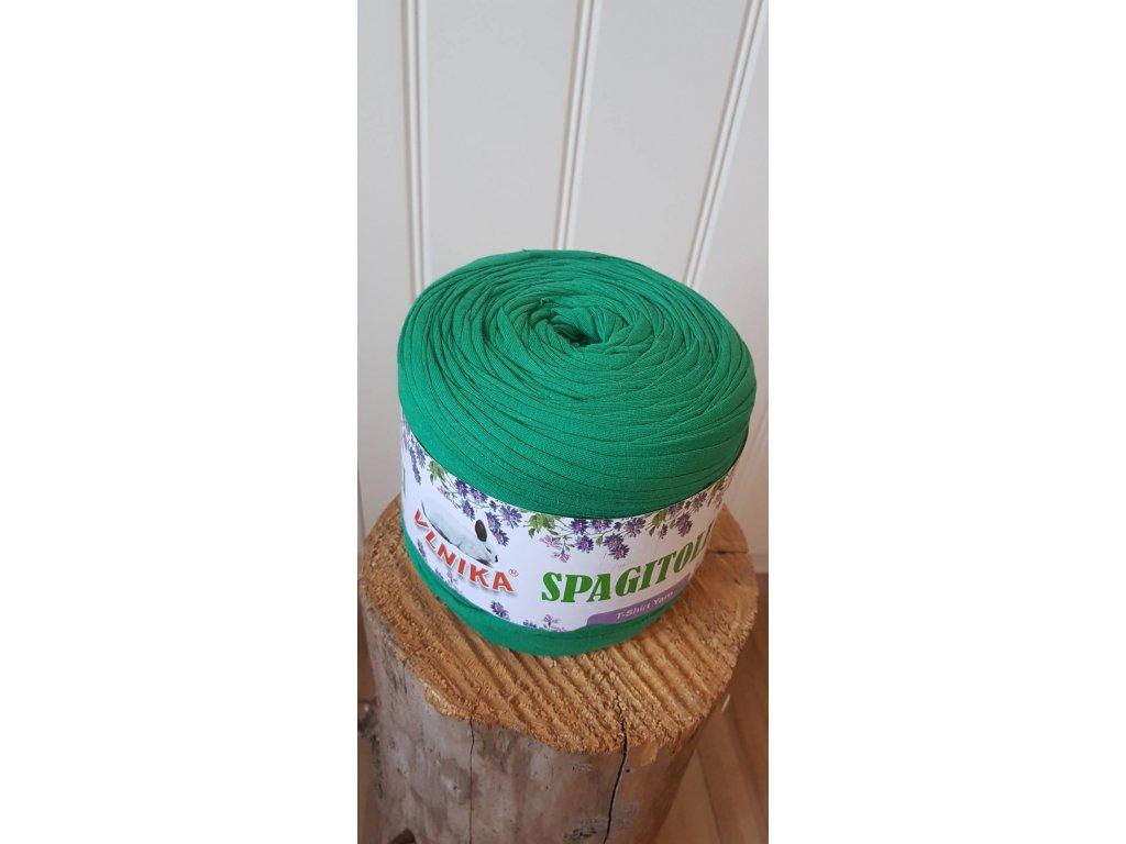 Špagi - zelená