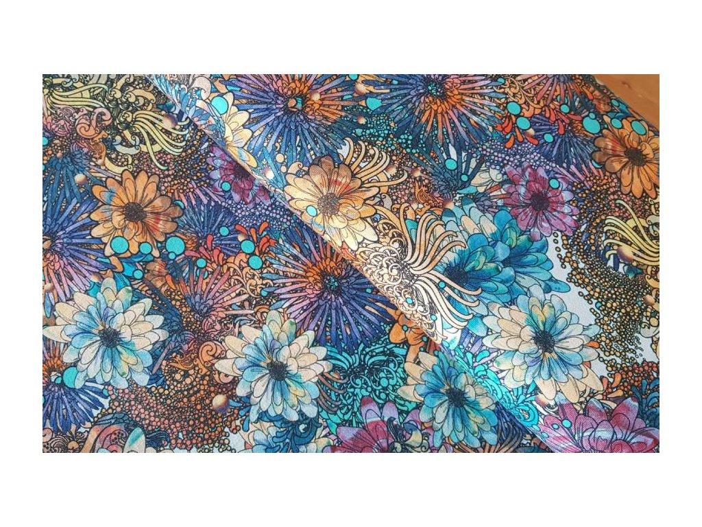Úplet - barevné květy - DIGITISK