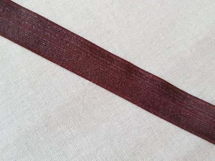 Lemovací gumička bordo