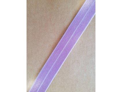 Lemovací gumička fialová