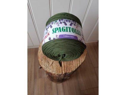 Špagi - khaki zelená
