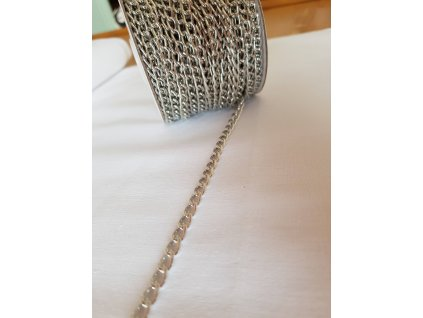 Řetízek 5mm - stříbrný