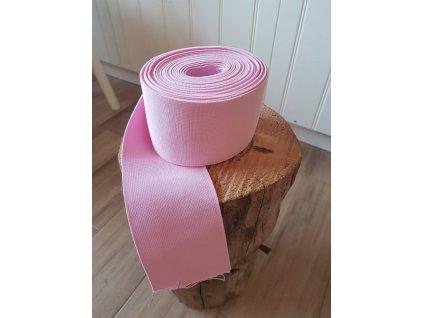 Guma plochá 8 cm -  růžová
