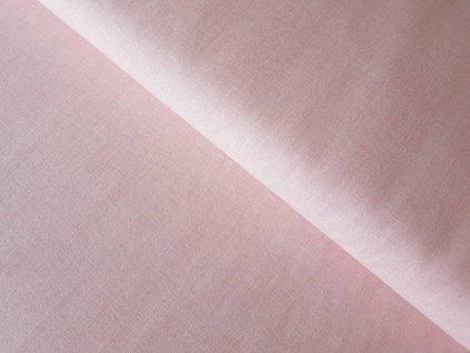Pudrově růžový - melír
