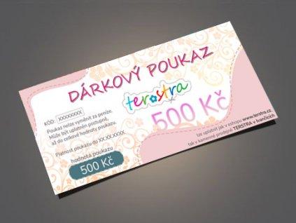 darkove poukazy 500 eshop