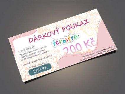 darkove poukazy 200 eshop
