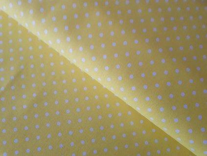 Žlutá - puntíky