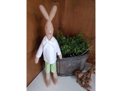 Zajíček kluk zelený