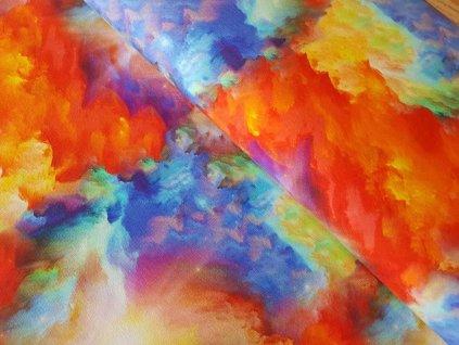 El.Teplákovina - barevná obloha