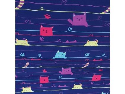 Softshell zimní - kočičky