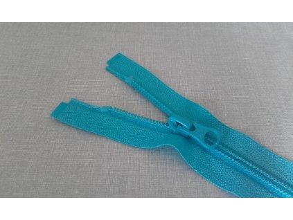 Spirálový zip YKK tyrkysový - 40 cm