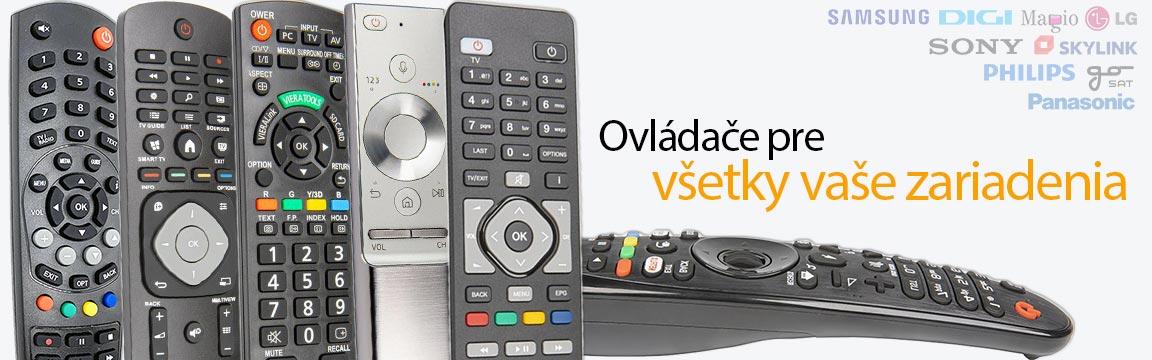 Ovládač pre Magio, Samsung, Digi, satelitný a televízny ovládač