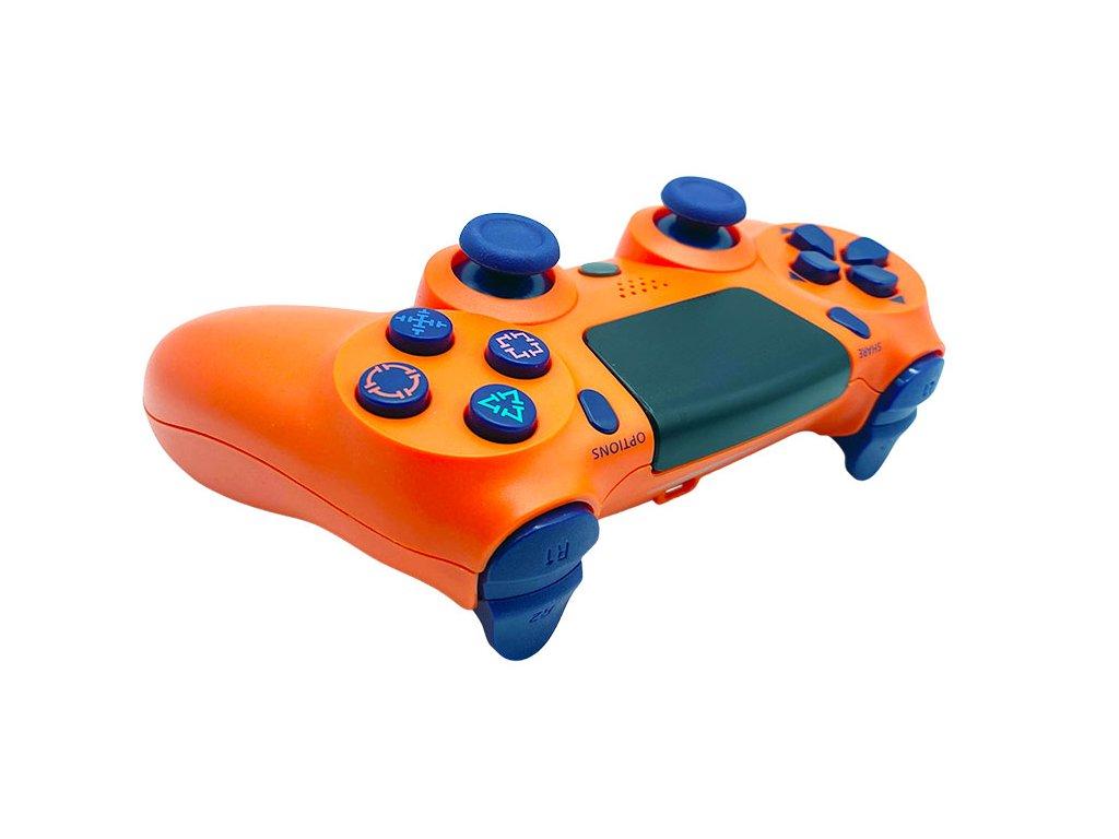 Herný ovládač T-Game DS6 oranzovy pre PS4