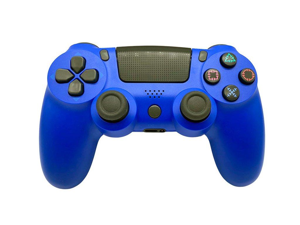 T-GAME DS6 modrý bezdrôtový herný ovládač pre PS4_1