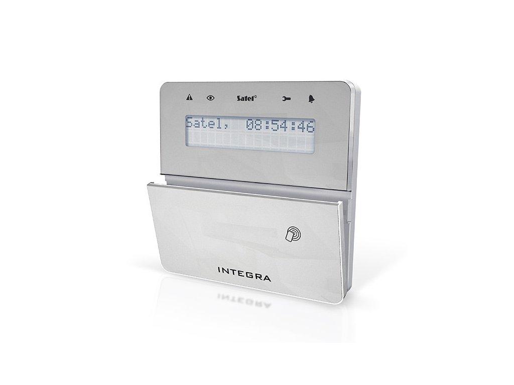 Satel INT-KLFR-SSW LCD klávesnica s dvierkami a RFID