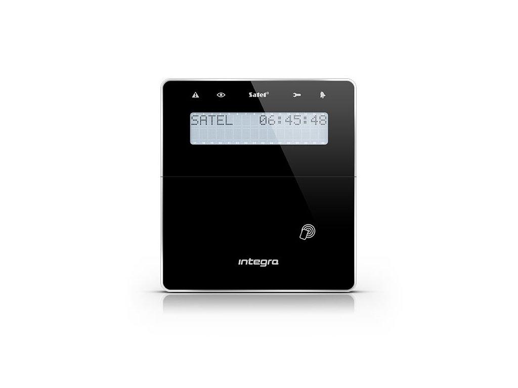 Satel INT-KWRL-BSB bezdrôtová LCD klávesnica s RFID