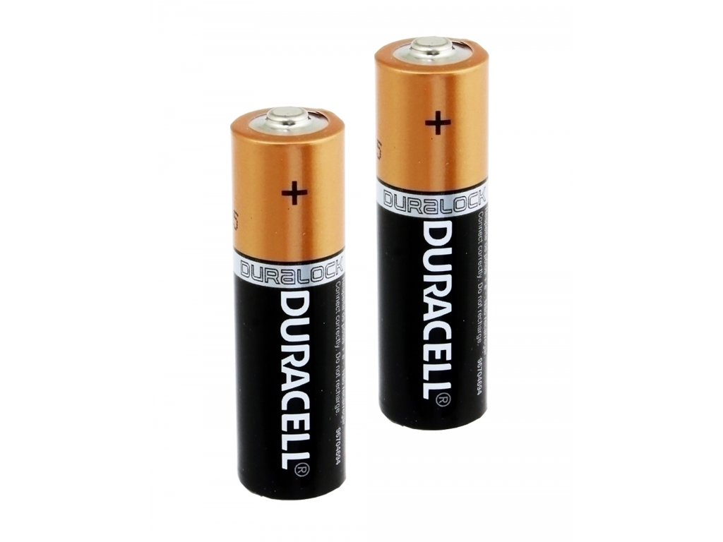 Duracell AA alkalické batérie 2ks