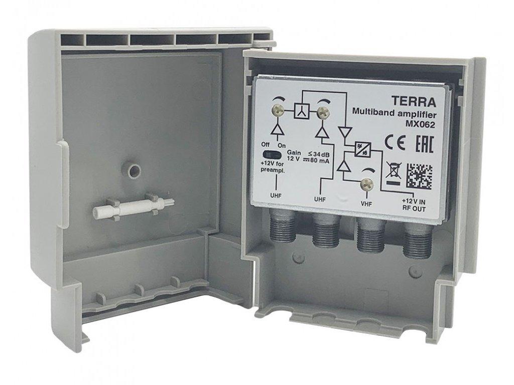 Terra MX062 DVB-T zosilňovať so zlučovačom