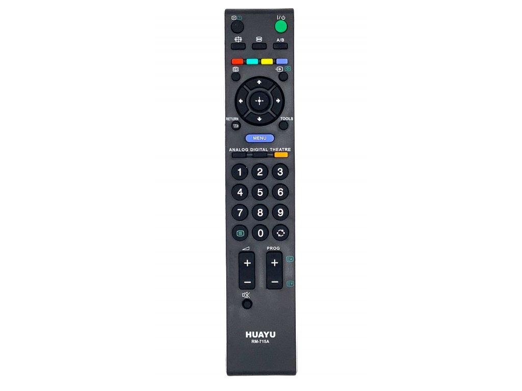 Sony RM 715 náhradný diaľkový ovládač