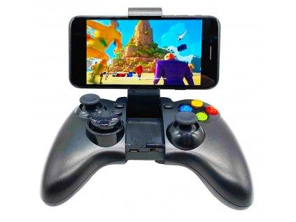 T-GAME M13 čierny bezdrôtový herný ovládač pre mobil_1