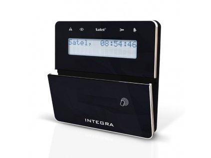Satel INT-KLFR-BSB LCD klávesnica s dvierkami a RFID
