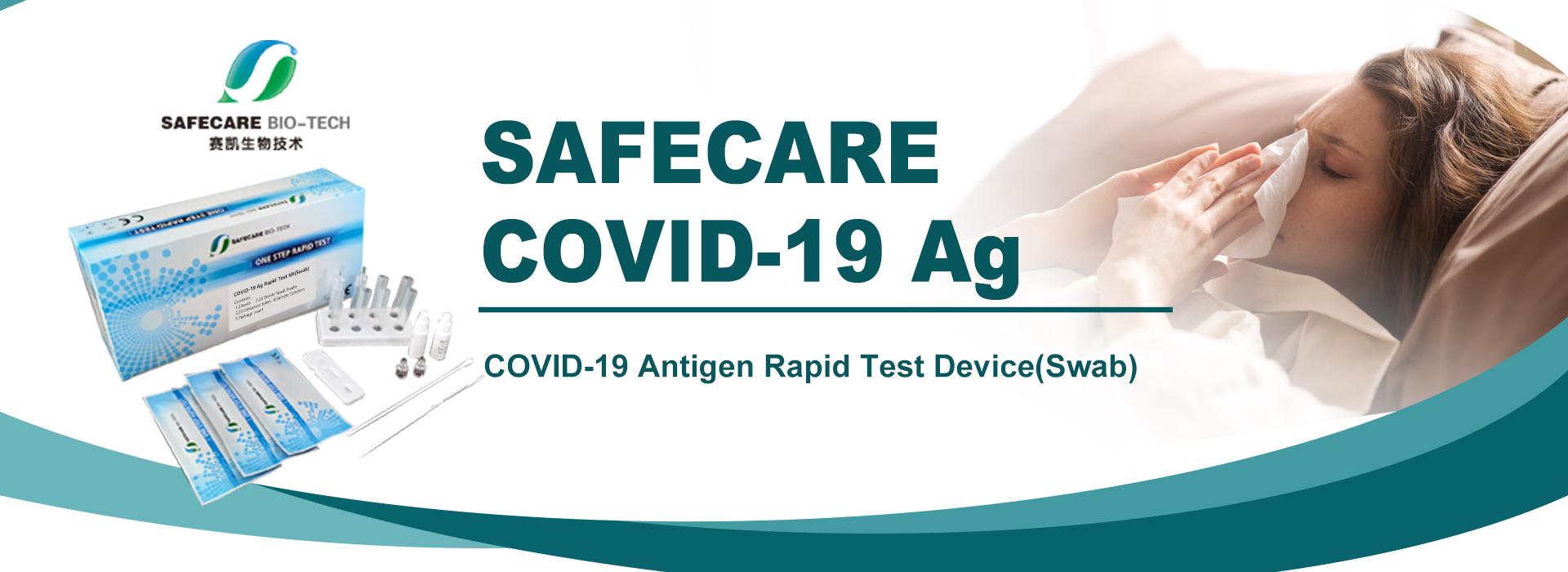 Safecare Antigenní testy pro PLYTKÝ VÝTĚR z nosu (5ks)