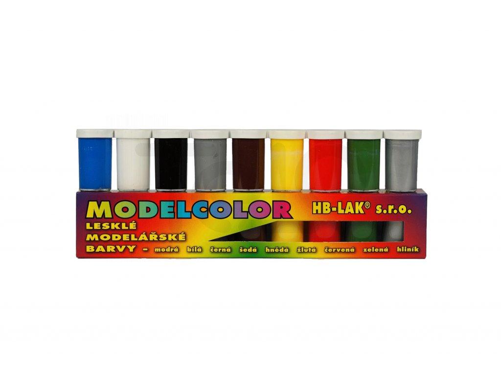 Sada akrylove barvy