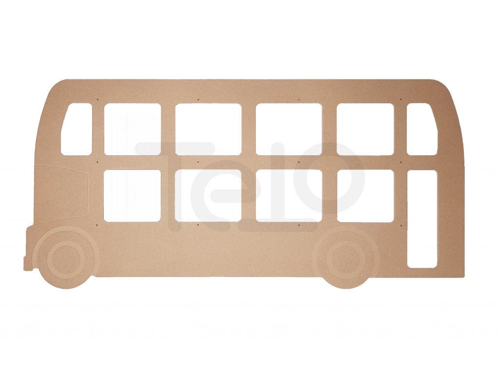 zadní čelo bus anglie L