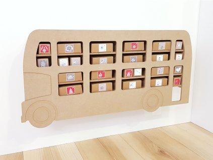 Adventní kalendář Autobus