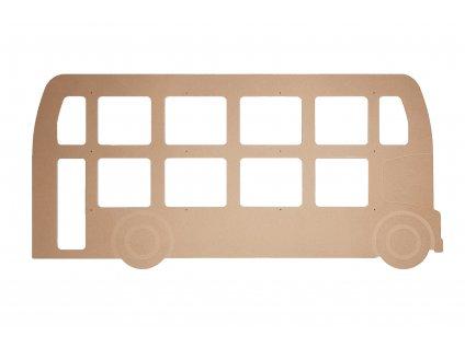 zadní čelo bus anglie P