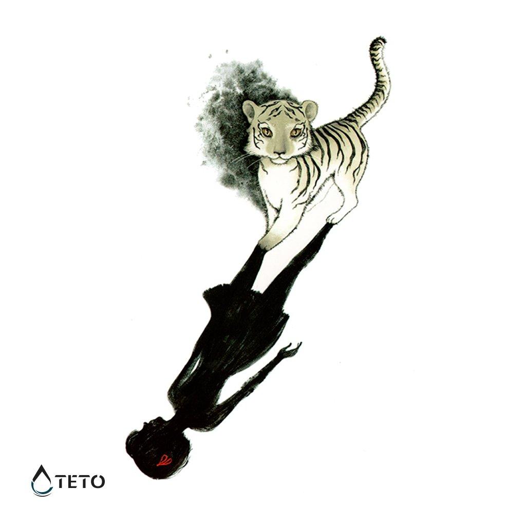 Tygr s odrazem