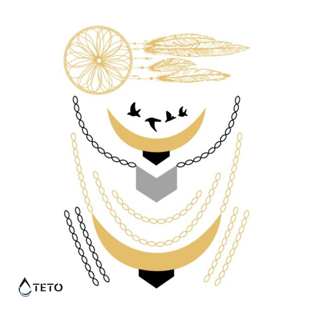 Náramky, Šperky, Lapač snů – metalické – set