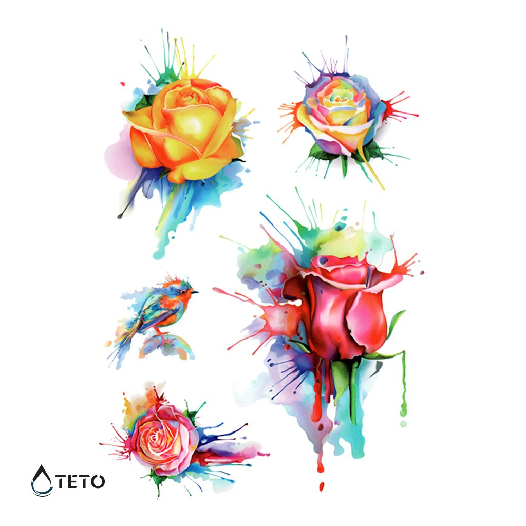 Květiny – Růže – Set