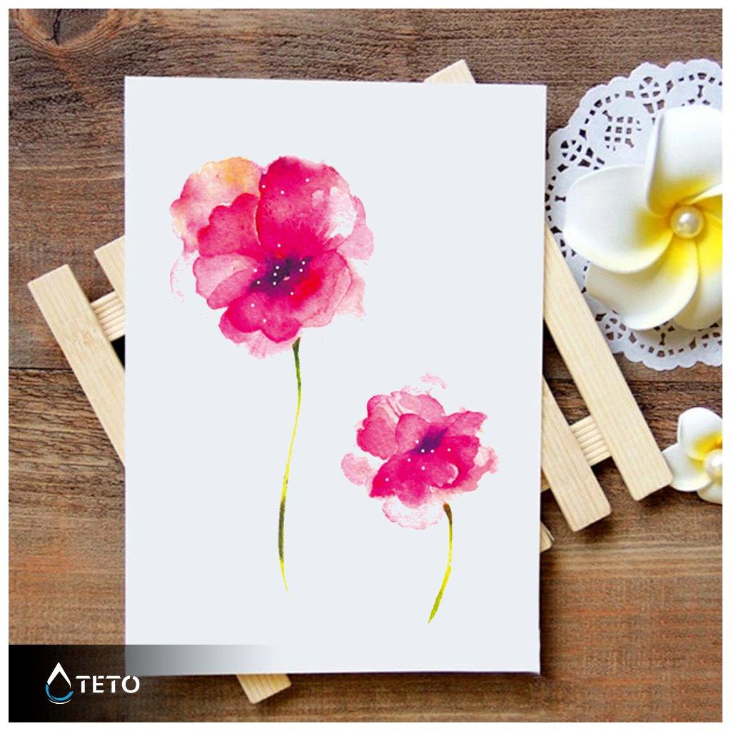 Květina – Vlčí mák – set