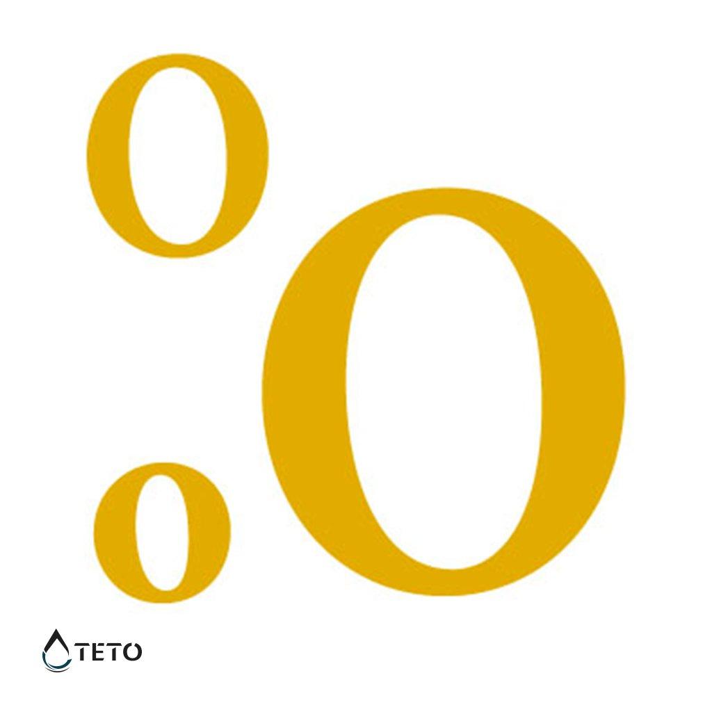 Písmeno O – metalické – set