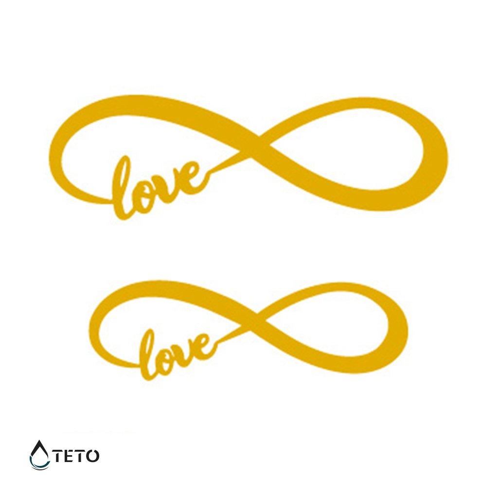 Nekonečno – Láska – Metalické – set