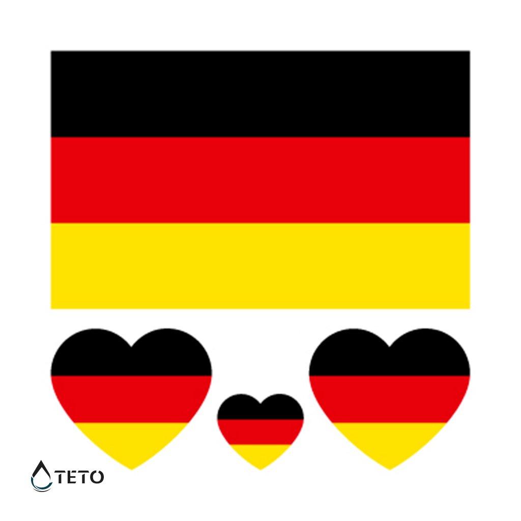 Vlajka Německo – set