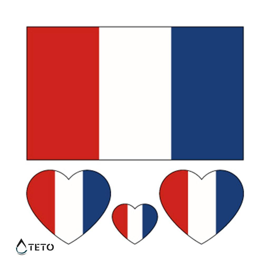 Vlajka Francie – set