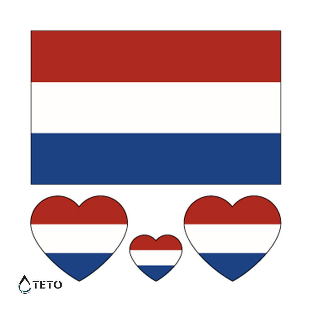 Vlajka Nizozemsko – set