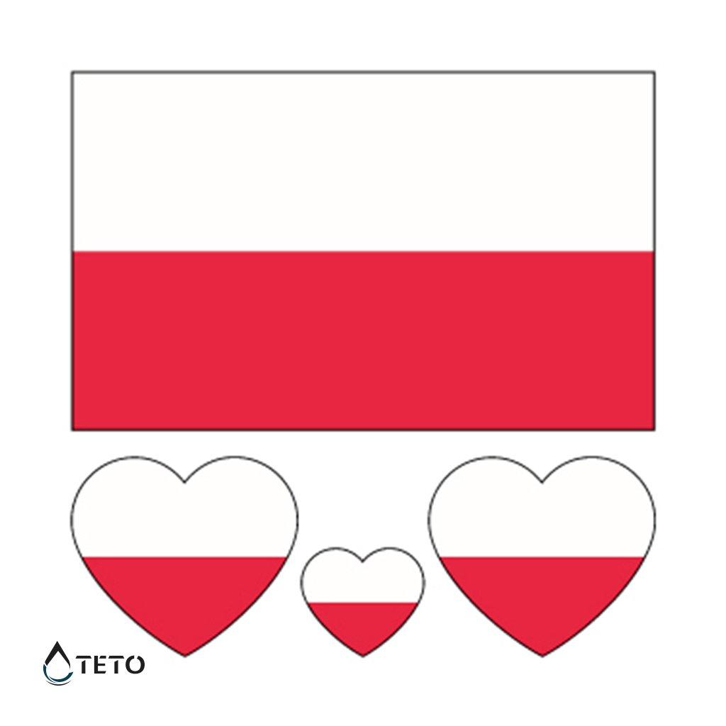 Vlajka Polsko – set