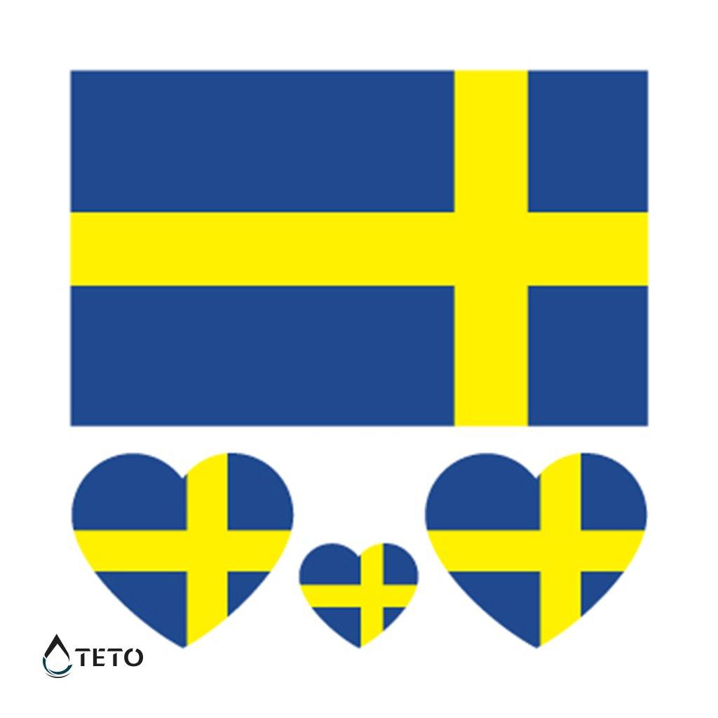 Vlajka Švédsko – set