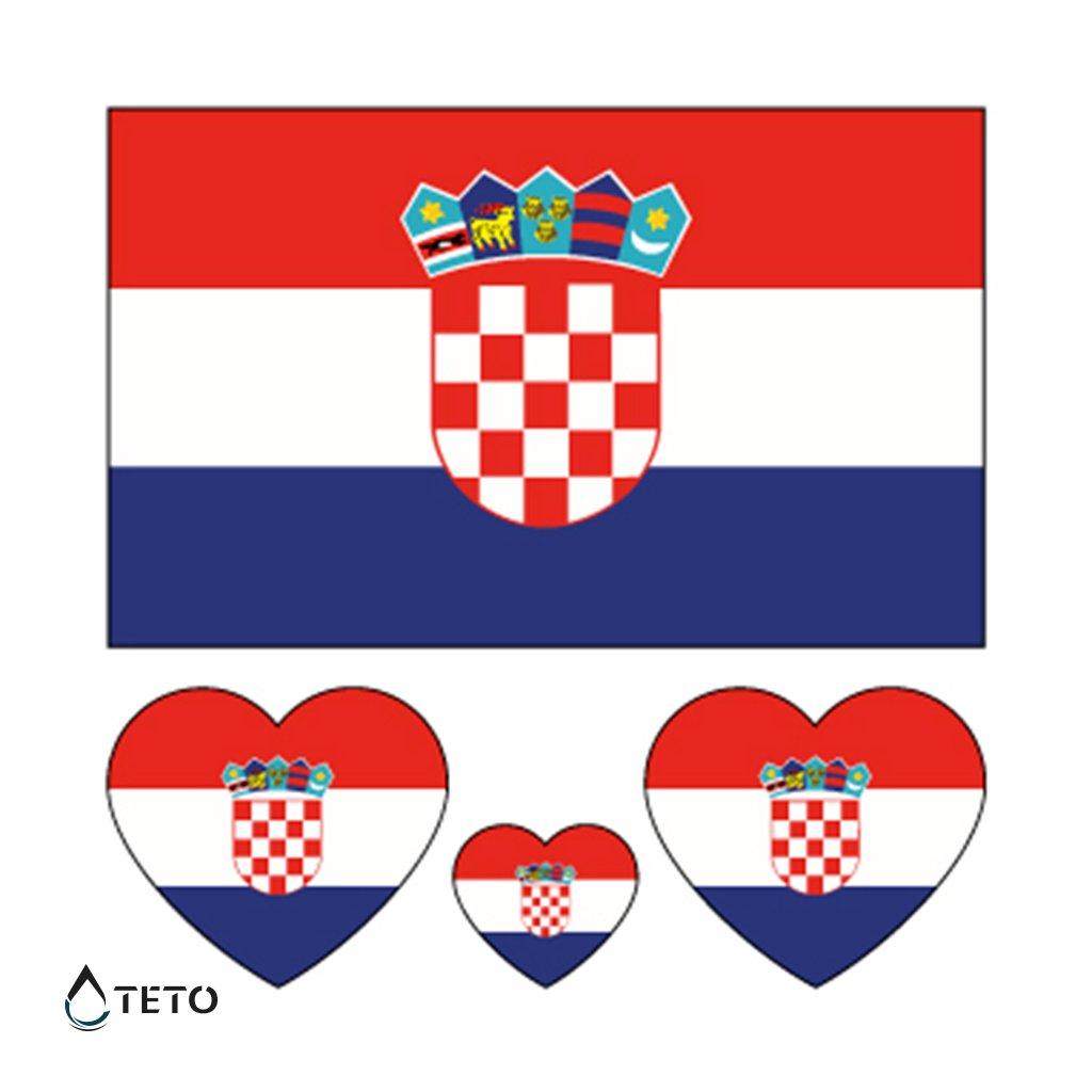 Vlajka Chorvatsko – set