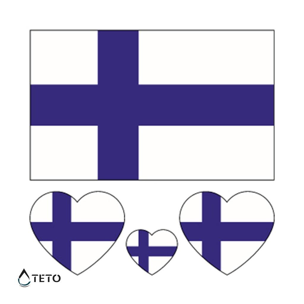 Vlajka Finsko – set