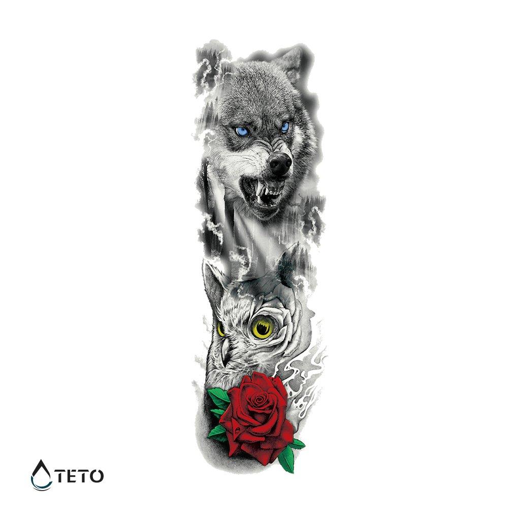 Vlk, Sova a Růže – Rukáv