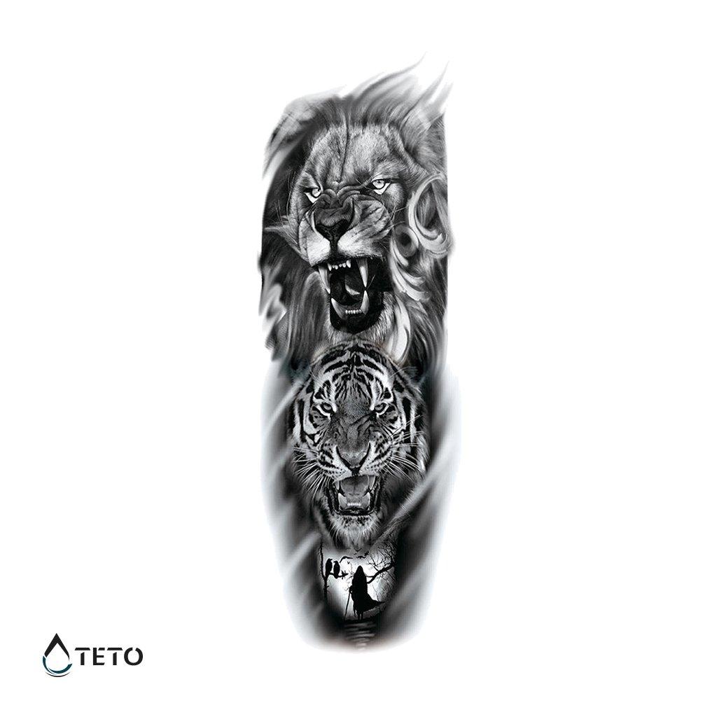 Lev a tygr - Rukáv