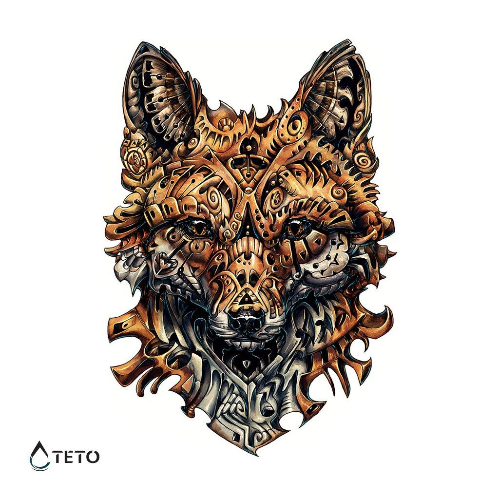 Liška - Celá záda