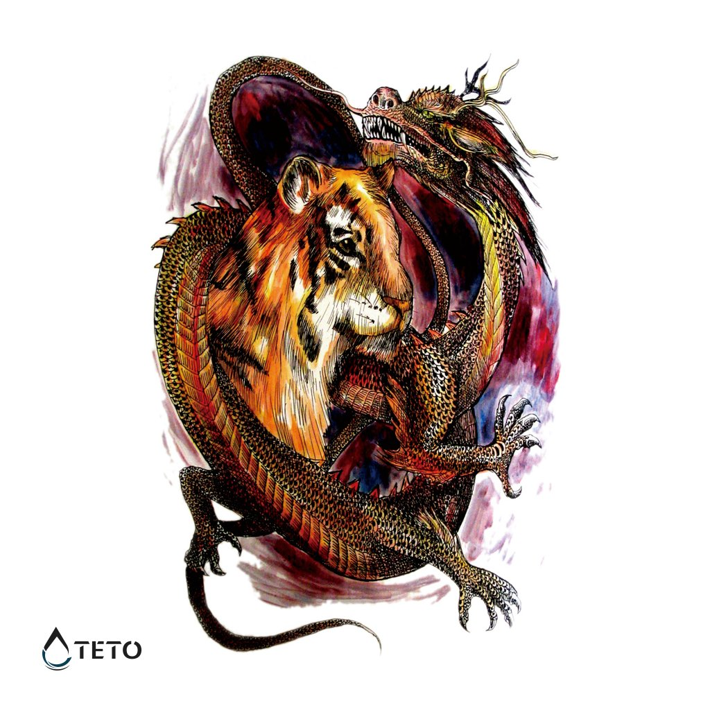 Tygr a drak - Celá záda